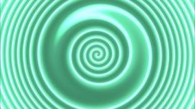 Hypnotisches colorspiral stock video