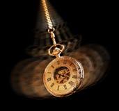 Hypnotiser la montre de poche Photos stock