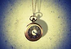 Hypnotiseur Clock Image stock