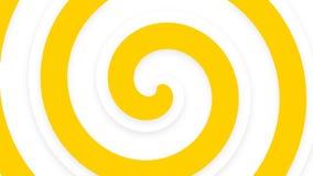 Hypnotisk färgspiral stock video