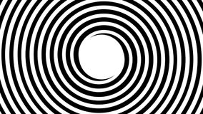 hypnotisk spiral stock illustrationer
