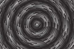 Hypnotisk spiral vektorabstrakt begreppbakgrund Arkivbild