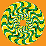 Hypnotisk Swirly sfär Royaltyfria Bilder