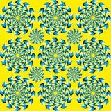 Hypnotiskt av rotation Arkivfoton
