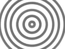 Hypnotiskt tänd - den gråa cirkeln på vit bakgrund royaltyfri illustrationer