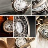 Hypnotist. Clock Pocket Watch Watch Old Surreal Machine Part Stock Photo