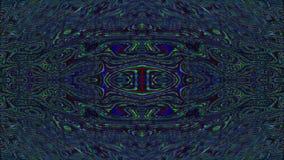 Hypnotizing bad trip effect flare glittering background. Seamless footage.