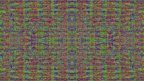 Hypnotizing bad tv imitation light leaks iridescent background.