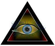 Hypnotizing a vista Fotografia de Stock