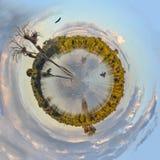 Hypo湖世界 免版税图库摄影