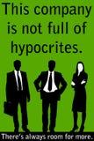 hypocrite Photographie stock libre de droits
