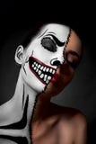 Hypocrite Maquillage pour Halloween Image libre de droits