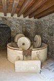 Hypogeum olive-press. Royalty Free Stock Photo
