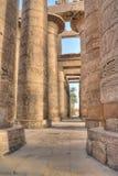 Hypostyle hall in Karnak, Egypt stock photography