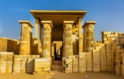 Hypostyle hall at the Pyramid of Zoser - Egypt Royalty Free Stock Photos