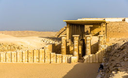 Hypostyle hall at the Pyramid of Zoser - Saqqara Stock Photo