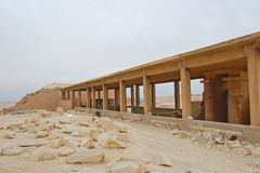 Hypostyle hall at Saqqara Stock Photos