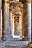 Hypostyle in Khnum temple,Egypt Royalty Free Stock Images