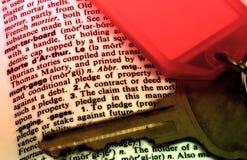 Hypothèque image libre de droits