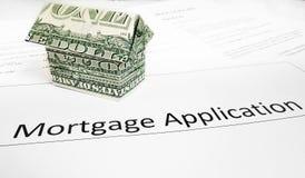 Hypothèque APP Photo stock