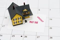 hypothèque en retard Photographie stock libre de droits
