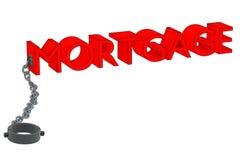 Hypothèque et chaîne Photos stock