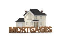 Hypothèques immobilières Photo libre de droits