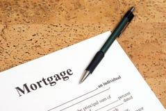 Hypotheek royalty-vrije stock afbeelding