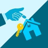 hypotheek vector illustratie
