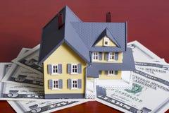 Hypotheek en aanbetaling stock foto's