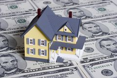 Hypotheek en aanbetaling Stock Afbeeldingen