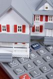 Hypotheek en aanbetaling Royalty-vrije Stock Foto's