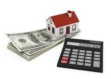 Hypotheekcalculator Stock Foto's