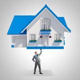 Hypotheekconcept Stock Afbeeldingen
