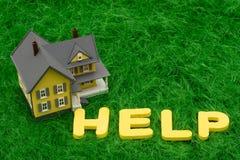 Hypotheken-Krise Stockfotos