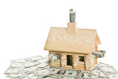 Hypotheken-Krisen-Serie Stockbild