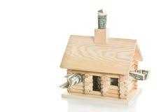 Hypotheken-Krisen-Serie Lizenzfreie Stockfotografie