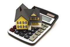 Hypotheken-Rechner stockbilder