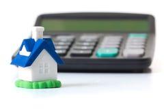Hypothekenrechner Lizenzfreie Stockbilder