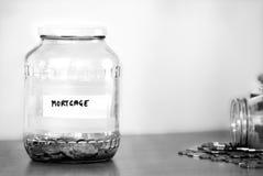 Hypothekenverkleinerung stockfotos