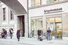 Hypovereinsbank munich Fotografering för Bildbyråer
