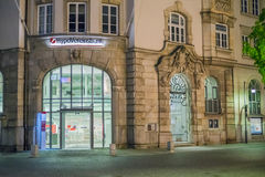 HypoVereinsbank at night Royalty Free Stock Photography