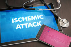 Hypoxia (neurological disorder) diagnosis medical concept on tab Royalty Free Stock Photo