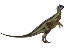 Hypsilophodon sobre o branco ilustração royalty free