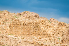 Hyrcania fästning royaltyfri fotografi
