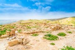 Hyrcania fästning arkivfoto