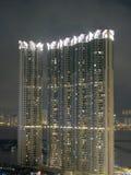 hyreshus Hong Kong Arkivfoton