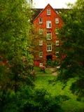 Hyreshus Tyskland Arkivbild