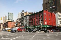 Hyreshusar på den 9th avenyn Arkivfoto