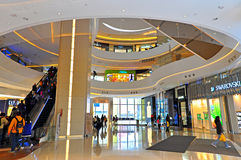 Hysan place shopping mall, hong kong Royalty Free Stock Photo